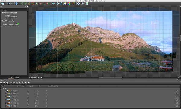 How To Combine Two Pictures with autopano