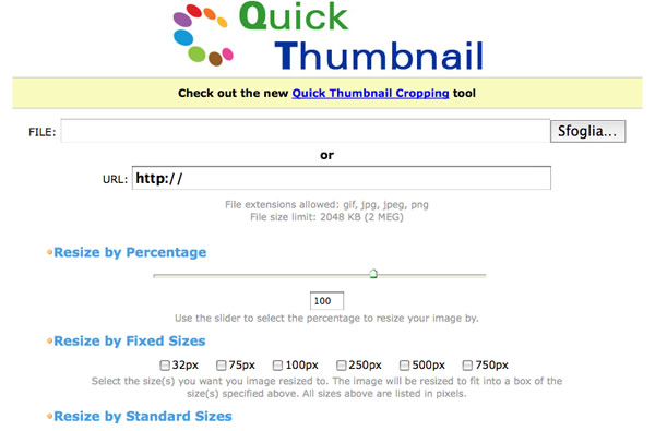 Online Photo Editing Software quicktumbnail