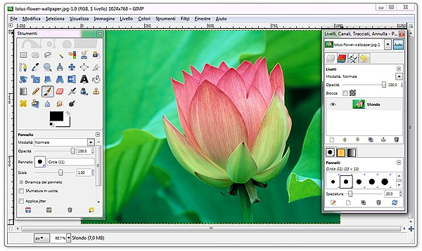 free photo editing software download GIMP