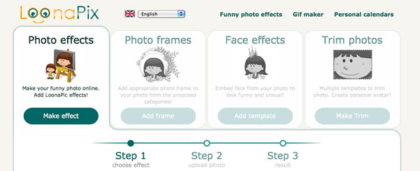 online photo editing software -  loonapix